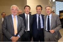 Cao all'inaugurazione dell'Aeroporto di Firenze