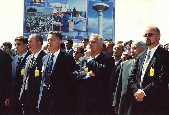 2003 L'impianto di Karachaganak - Kazahstan