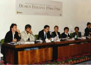 "Stefano Cao attends the presentation of ""Design Italiano"""