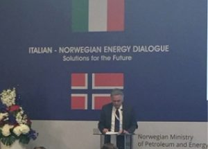 April 8th, 2016 – Stefano Cao attends the Italian-Norwegian Energy Dialogue